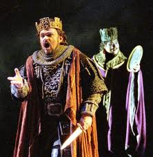an analysis of irony and symbolism in the play macbeth by william shakespeare In william shakespeare's macbeth, symbolism is abundantly used in exemplifying the overall theme of murder there are several prominent forms of this throughout the play the contrast of light and dark representing good and evil plays a major role in the advancement of events in the play.