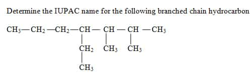 naming hydrocarbons How to Name Branched Chain Alkanes