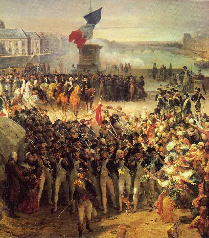 reflection on the franch revolution This famous treatise began as a letter to a young french friend who asked  edmund burke's opinion on whether france's new ruling class would succeed in .