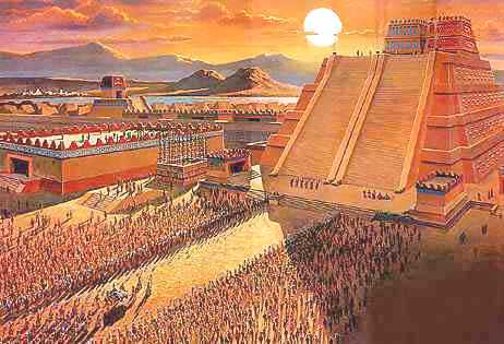 aztec empire The aztec empire, or the triple alliance began as an alliance of three nahua altepetl city-states: mexico-tenochtitlan, texcoco, and tlacopan these three.