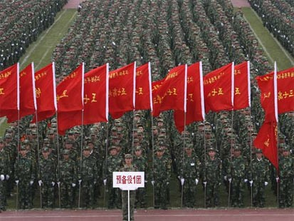 China armymen Communist China and Mao Tse tung