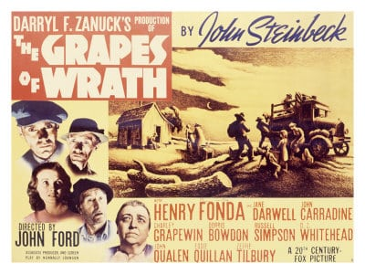 an analysis of the film the grapes of wrath The same can be said of the film version of the grapes of wrath starring henry  fonda as tom joad and directed by john ford, it had its world.