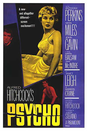 psycho janet leigh alfred hitchcock Alfred Hitchcocks Psycho: Summary & Analysis