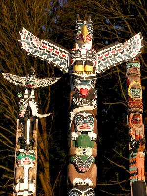 The cultural value of the native american totem poles
