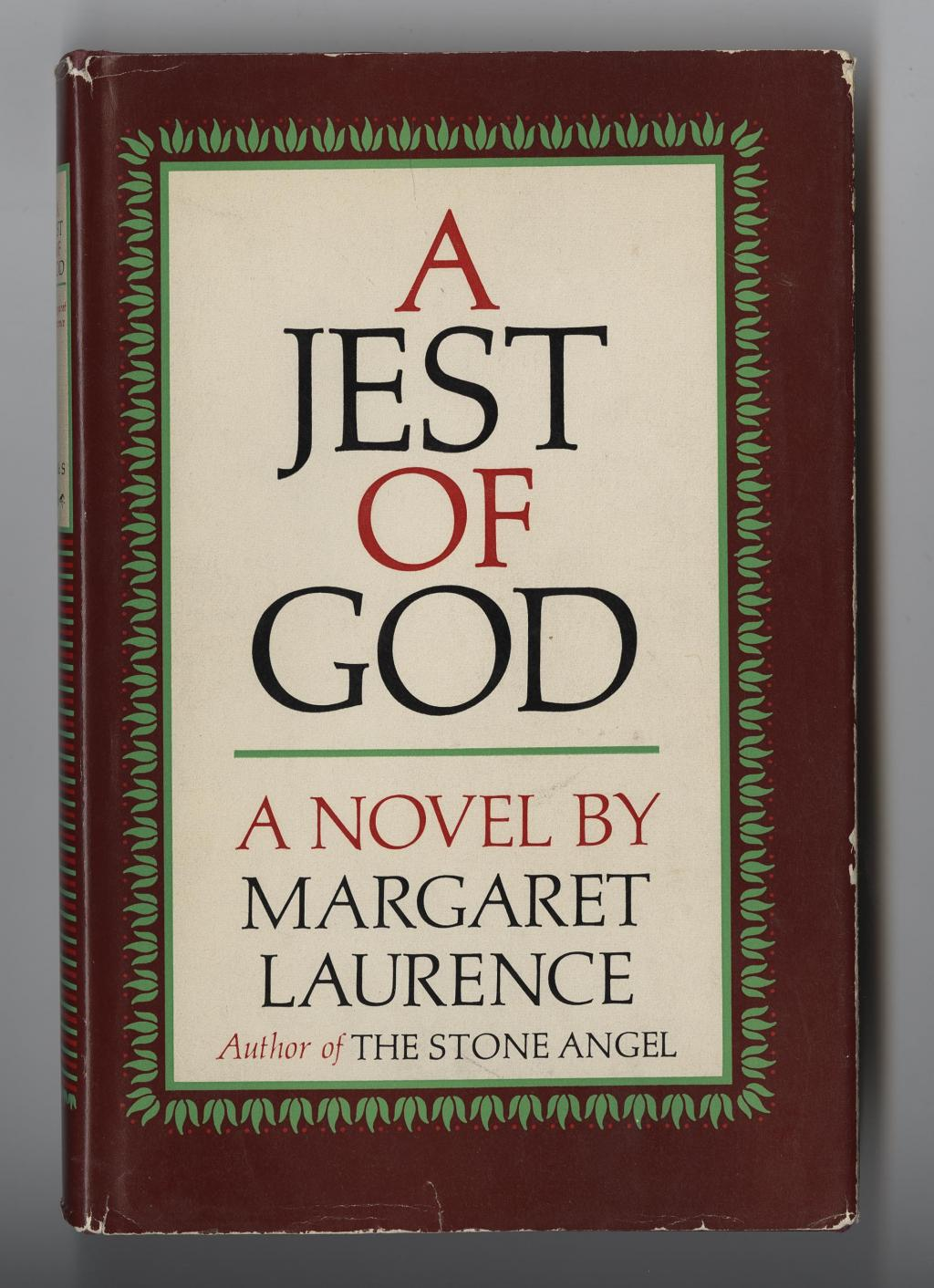 a literary analysis of mae cameron in jest of god by margaret laurence In the days of 'mother goose' they made no claim to a literary  (mrs ada gouge), cupid, god of love, the  kara valentine marya gerante margaret cameron.