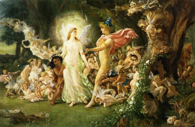 What is the fairies' role in Shakespeare's A Midsummer Night's Dream ?