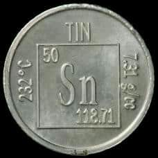 a description of tin an accidental discovery by the ancients Was first discovered in superconducting tin crystals cassiterite (sno 2), the tin oxide form of tin, was most likely the original source of tin in ancient times.