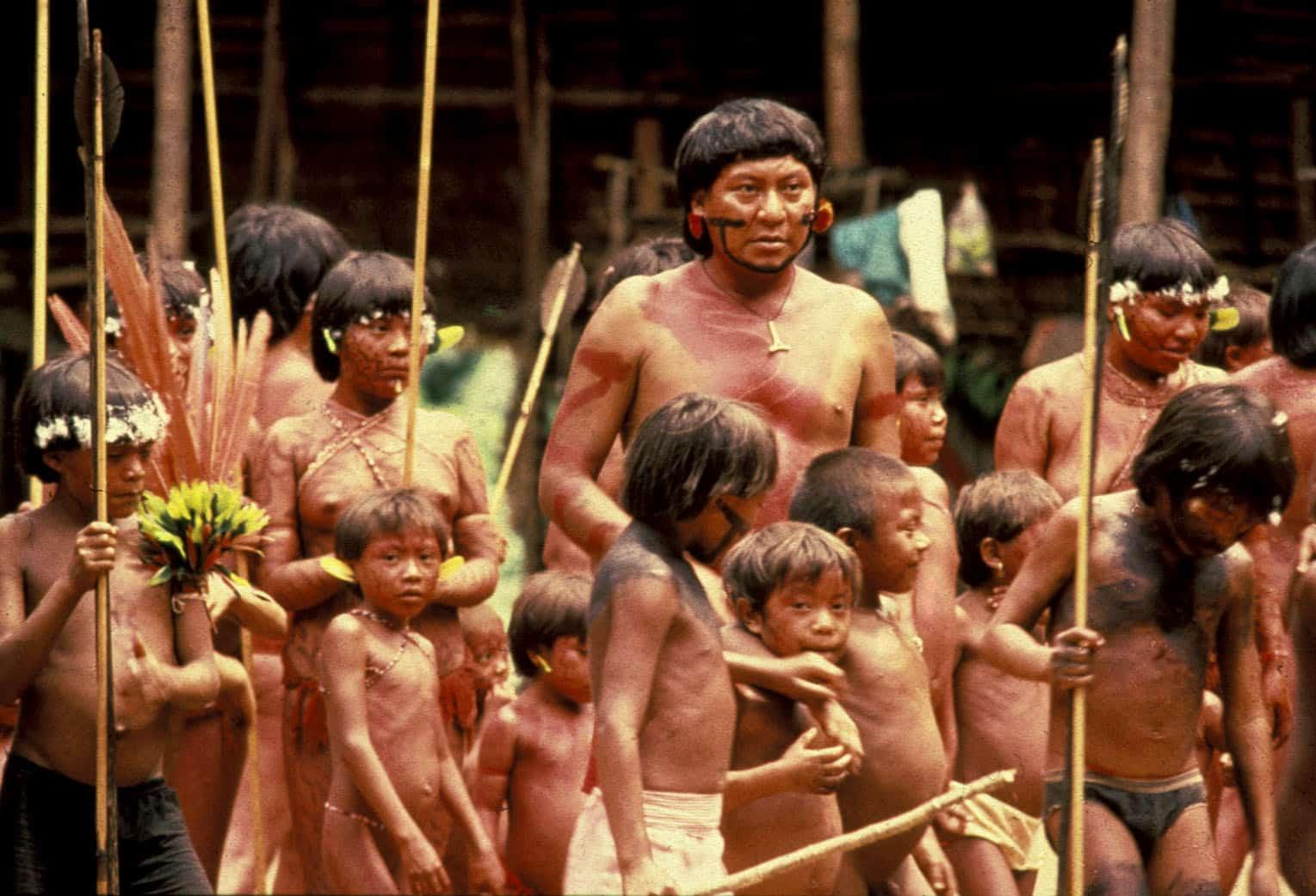 Девушки из племени яномами фото