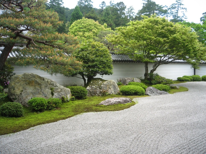 Japanese zen garden design photograph zen gardens japan for Japanese zen garden design