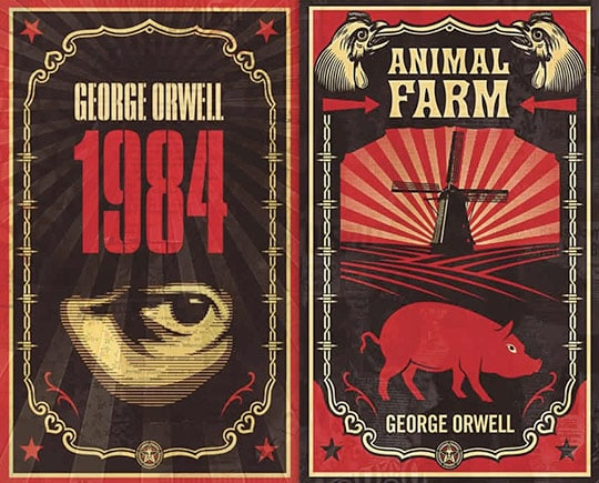 1984 and animal farm thesis