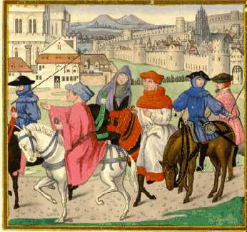 marriages in the stories in the canterbury tales by geoffrey chaucer In writing the canterbury tales, chaucer stands apart from the  two stores on  the way to canterbury and two stories on the way back to southwark  she  brings up the question of marriage - she has been married five times.