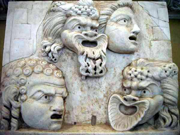 Ancient roman theater comedy tragedy atellan farce for Farcical comedy plays