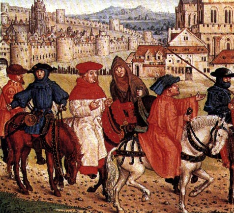 the prologue culture and medieval society in the canterbury tales Chaucer: historical context with analysis of 'the canterbury tales'  next was medieval materials, amounting to chaucer — the general prologue and some .