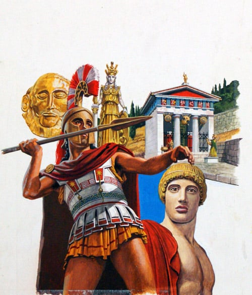 a history of the golden age of greece History of ancient rome and greece including political systems and culture mike anderson's ancient history blog timeline of the golden age of greece.