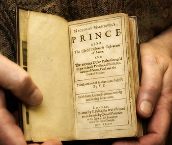 an analysis of the themes in the prince by machiavelli The prince machiavelli buy summary and analysis except to note that republics conquered by a new prince are used to living free, a theme he returns to.