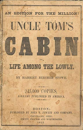 "an analysis of the book uncle toms cabin by harriet beecher stowe Harriet beecher stowe's, ""uncle tom's cabin"" is a book worth reading inside the cover of this old time favorite, stowe easily takes readers inside the minds the slaves, the slave owners."
