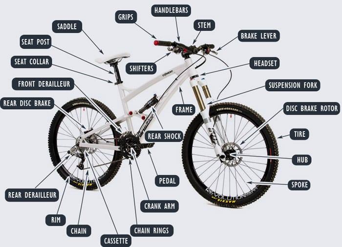 Mountain Bikes Frame Parts History Schoolworkhelper