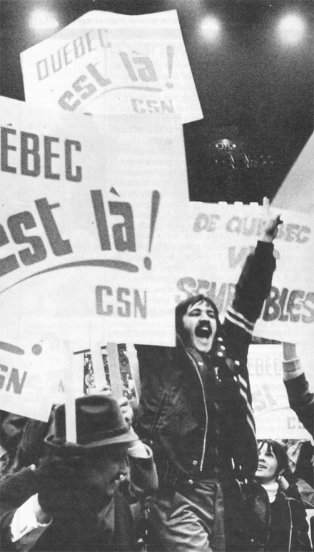 essay on the quiet revolution in quebec Free essay: these words spoken well-known example of this in quebec was during the quiet revolution which strengthened the need for change through premier lesage's reforms and in turn, developed a strong sense of nationalism in quebec.