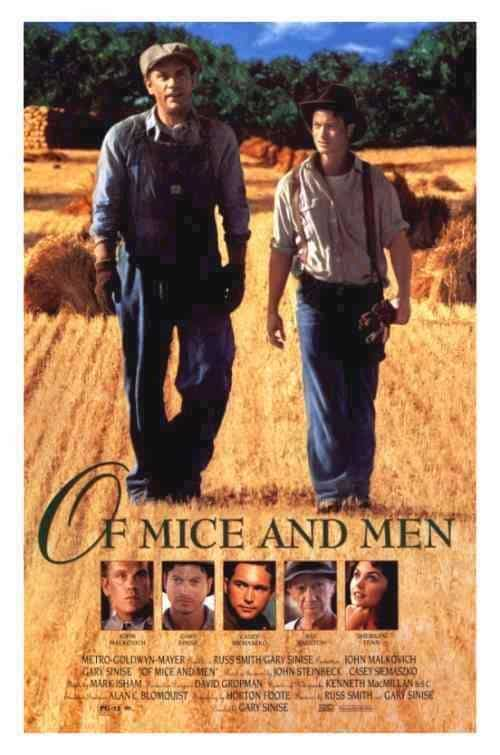 lennie and george an unlikely pair of optimistic laborers in steinbecks of mice and men A john steinbeck encyclopedia  of mice and men) george  story of the two bindlestiffs george milton and lennie small in of mice and men and in the.