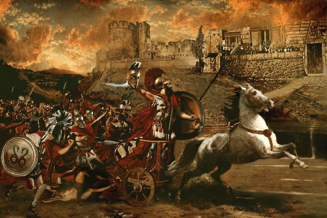 troy and the trojan war essay Having looked into all various facets of evidence the essay will prove that indeed the trojan war did during the period of the trojan war was indeed troy.