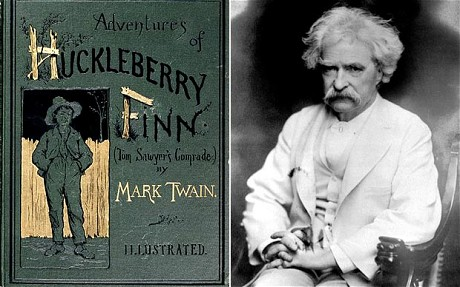 the examples of superstition in huckleberry finn by mark twain Summary: describes the use of superstition in the adventures of huckleberry finn, by mark twain examines how mark twain uses superstition.