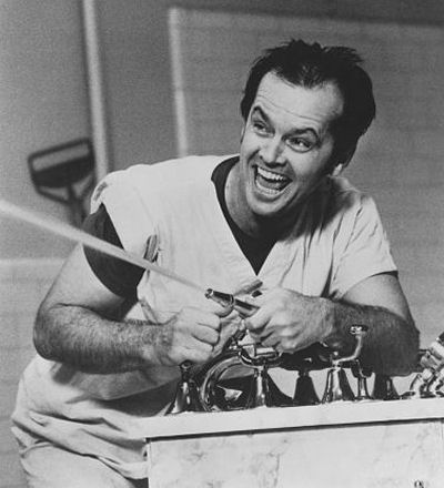 a literary analysis of one flew over the cuckoos nest by ken kesey With his first book,one flew over the cuckoo's nest, ken kesey helped father the  60s counterculture, a literary achievement that was overshadowed first by his.